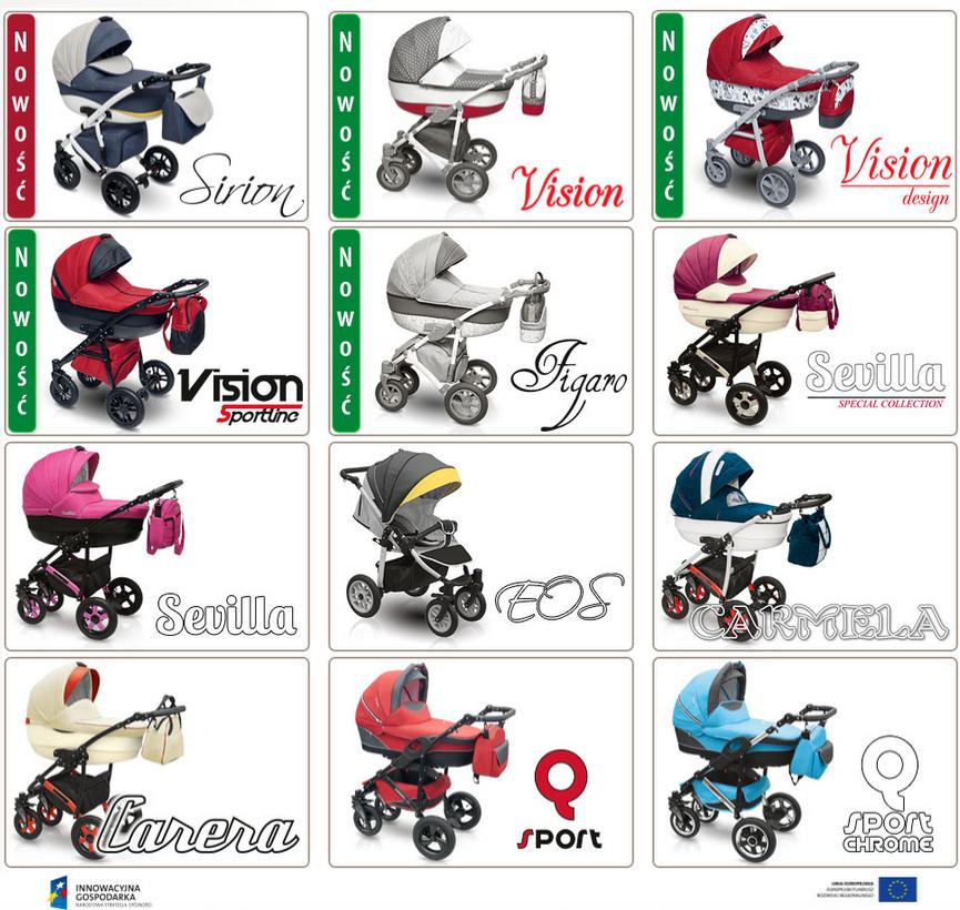 Camarelo Q12 - детские коляски серии Камарело Q12 от польского
